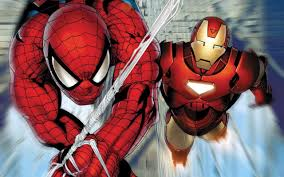 ironman spiderman1