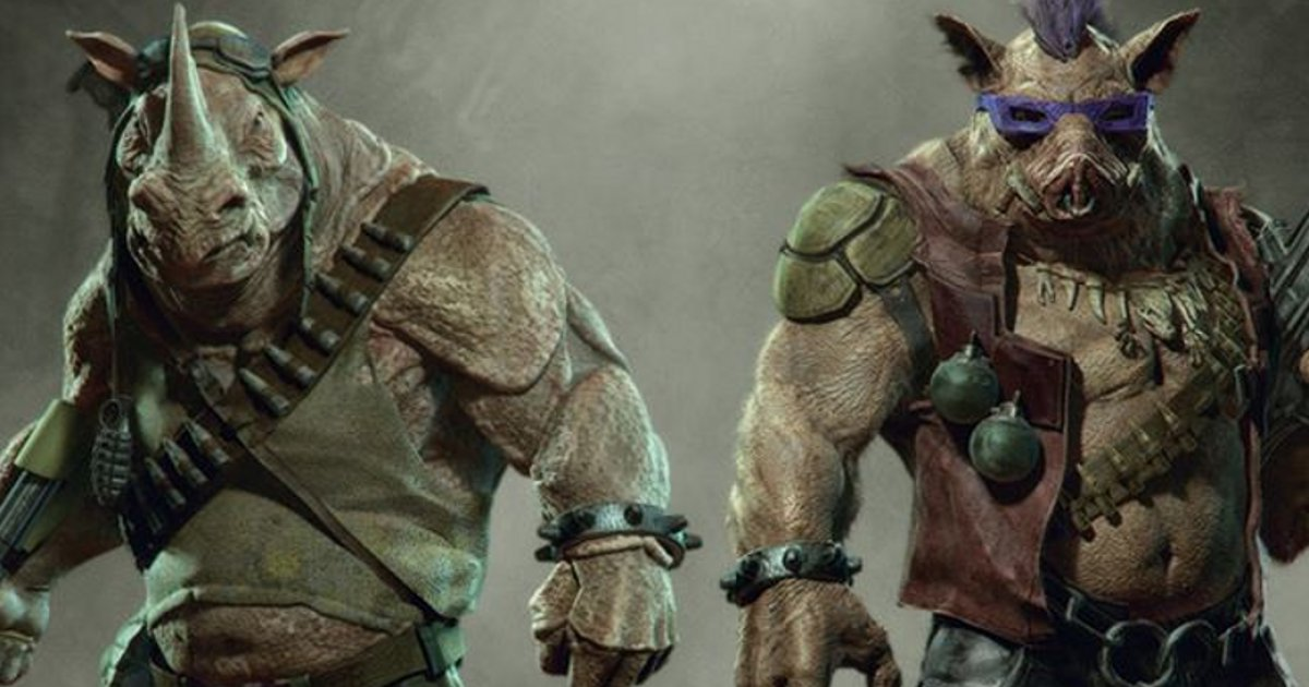 tmnt 2 bebop rocksteady 0