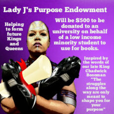 Support Lady J's Purpose Endowment